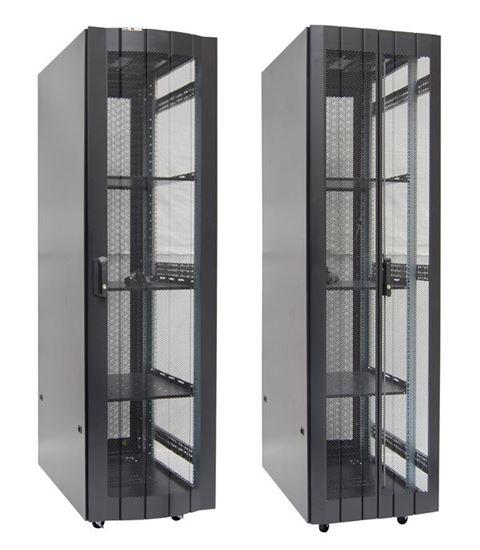 Picture of DYNAMIX 45RU Server Cabinet 1000mm deep (600 x 1000 x 2181mm) FLAT