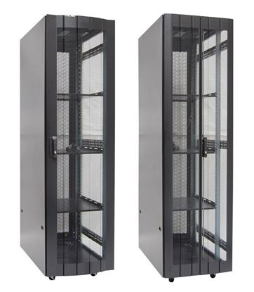 Picture of DYNAMIX 45RU Server Cabinet 1200mm Deep (600 x 1200 x 2181mm) Incl. 3x