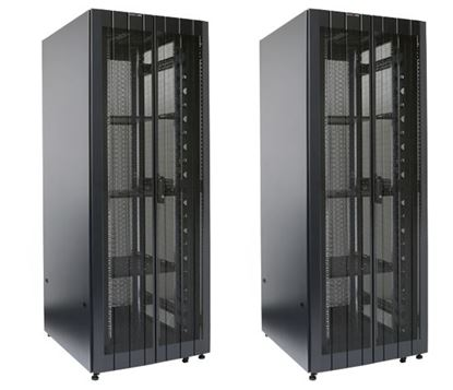 Picture of DYNAMIX 45RU Server Cabinet 1200mm Deep (800 x 1200 x 2181mm) 2x Front