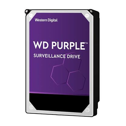 "Picture of WESTERN DIGITAL 4TB Purple 3.5"" Surveillance HDD. 64MB SATA3,"