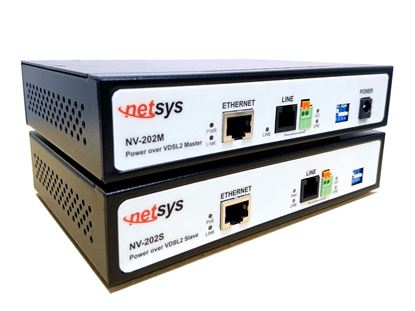Picture of NETSYS Power Over LAN Extender Supplies PoD upto 15W to PoE Ports.