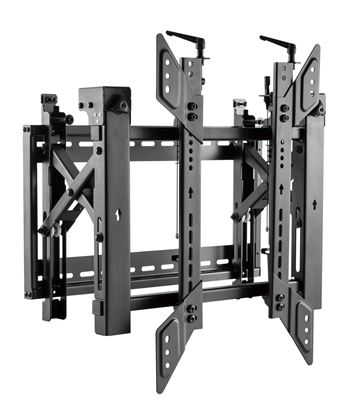 Picture of BRATECK 45'-70' Pop-Out Portrait Video Wall Bracket. Max Load: 70kg