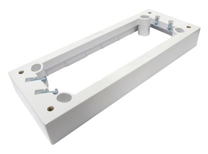 Picture of TRADESAVE QUAD Mounting Block (25mm). Moulded in impact