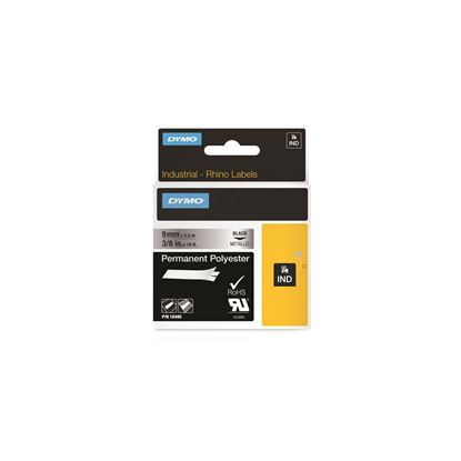 Picture of DYMO Genuine Rhino Industrial Labels -Permanent Polyester 9mm