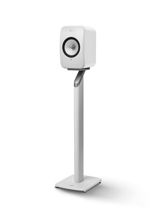 Picture of LSX Floor Stand White Aluminium Construction, Fillable