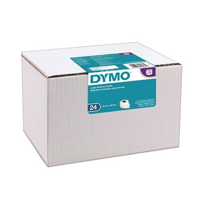 Picture of DYMO Genuine LabelWriter Large Address Labels 36mm x 89mm White