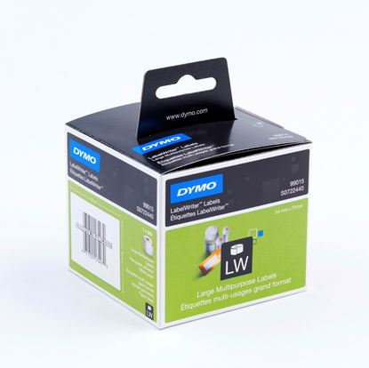 Picture of DYMO Genuine LabelWriter Multi- Purpose Labels, 54mm x 70mm Black