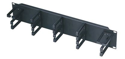 Picture of DYNAMIX 19' 2RU Cable Management Bar 70mm Deep.