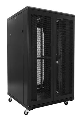 Picture of DYNAMIX 27RU Server Cabinet 1000mm Deep (800 x 1000 x 1410mm) Incl. 1x