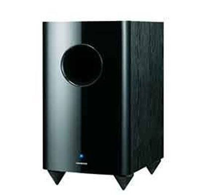 Picture of ONKYO 10' 120W Bass Reflex Down Firing Powered Subwoofer. Gloss