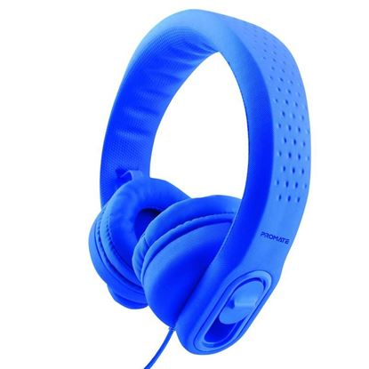 Picture of PROMATE Made for Kids Flex-Foam Stereo Headphones. Includes Soft