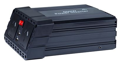 Picture of DYNAMIX 600W Power Inverter Input: 13.5V DC, Output: 230V AC.