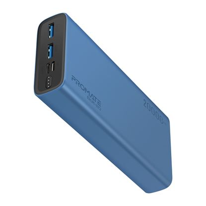 Picture of PROMATE 20000mAh Smart Charging Power Bank with Dual USB Output.