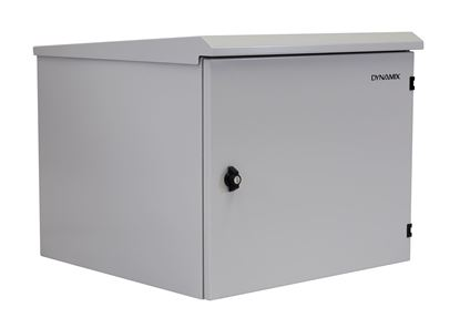 Picture of DYNAMIX 9RU Outdoor Wall Mount Cabinet. (611 x 525 x 440mm). IP65
