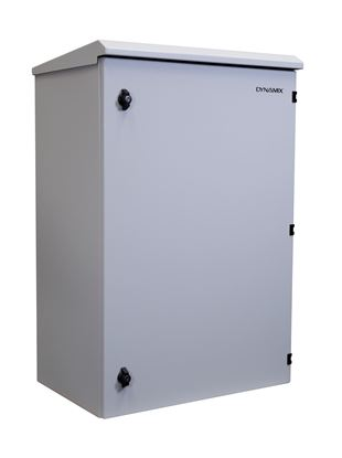 Picture of DYNAMIX 18RU Outdoor Wall Mount Cabinet. (611 x 425 x 640mm). IP65