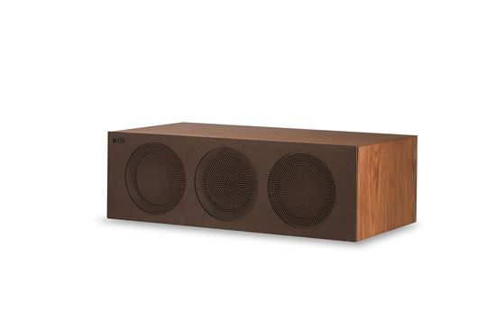 Picture of KEF Microfibre Grilles to fit KEF R2C. Colour - Brown
