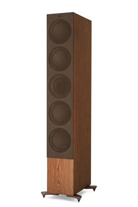 Picture of KEF Microfibre Grilles to fit KEF R11. Colour - Brown. SOLD AS A PAIR