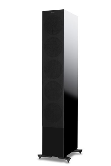 Picture of KEF Microfibre Grilles to fit KEF R11. Colour - Black. SOLD AS A PAIR