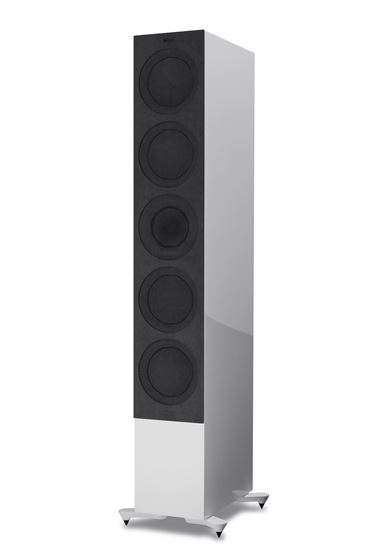 Picture of KEF Microfibre Grilles to fit KEF R11. Colour - Grey. SOLD AS A PAIR
