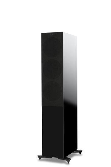Picture of KEF Microfibre Grilles to fit KEF R7. Colour - Black. SOLD AS A PAIR