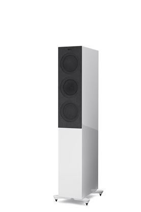 Picture of KEF Microfibre Grilles to fit KEF R5. Colour - Grey. SOLD AS A PAIR
