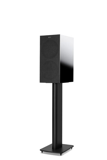 Picture of KEF Microfibre Grilles to fit KEF R3. Colour - Black. SOLD AS A PAIR