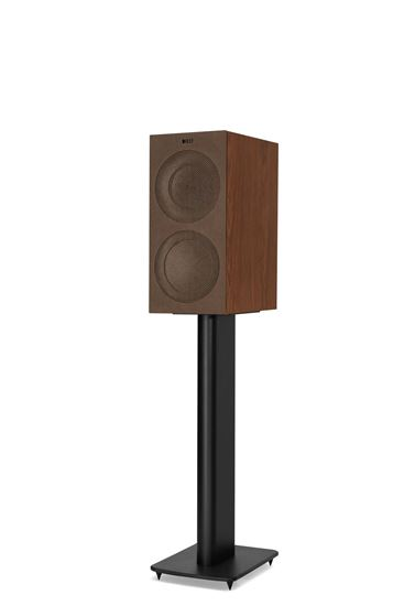 Picture of KEF Microfibre Grilles to fit KEF R3. Colour - Brown. SOLD AS A PAIR