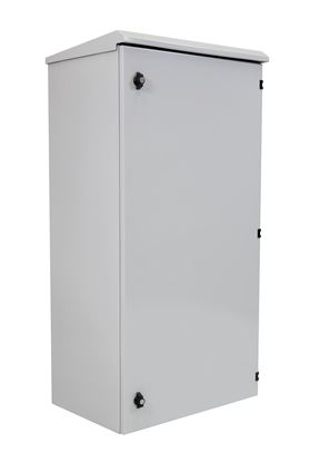 Picture of DYNAMIX 24RU Outdoor Wall Mount Cabinet. (610 x 625 x 1200mm). IP65