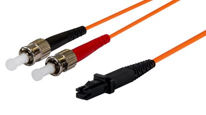 Picture of DYNAMIX 20M 62.5u MT-RJ/ST OM1 Fibre Lead (Duplex, Multimode)