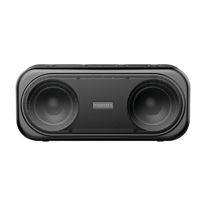 Picture of PROMATE 10W Bluetooth Speaker with AUX, USB, & MicroSD Playback. Long