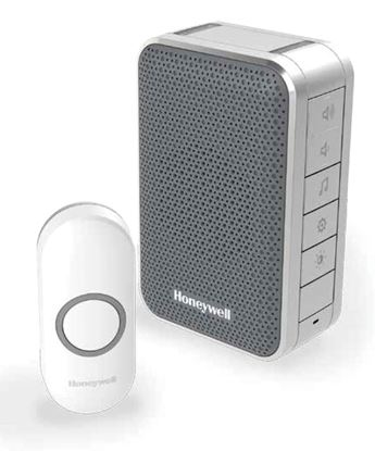 Picture of HONEYWELL Wireless Series 3 Portable Doorbell with Volume