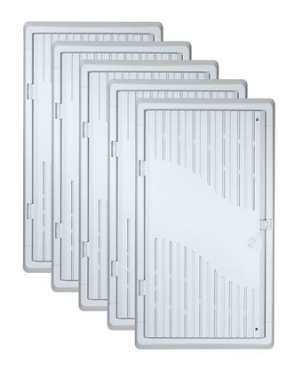 Picture of DYNAMIX 28' Recessed 5pc Bundle Plastic Network Enclosure.