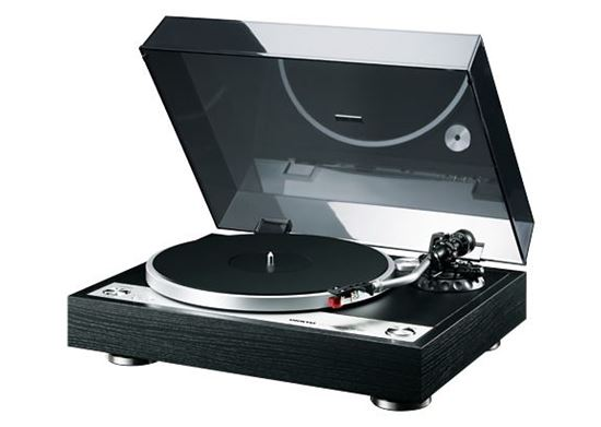 Picture of ONKYO Direct Drive Turntable. Clear audio with direct drive.