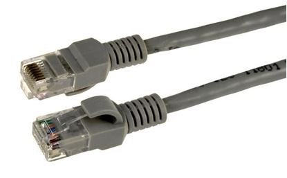 Picture of DYNAMIX 0.3m Cat5e Beige UTP Patch Lead (T568A Specification)