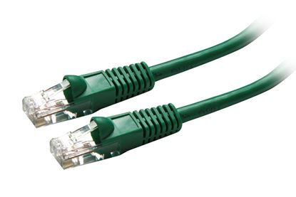 Picture of DYNAMIX 10m Cat5e Green UTP Patch Lead (T568A Specification)