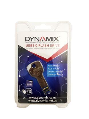 Picture of DYNAMIX 8GB USB3.0 Key Flash Drive