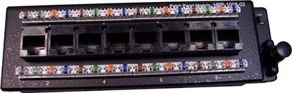 Picture of DYNAMIX 8 Port Cat6 Slimline Patch Panel for HWS range T568A.