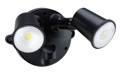 Picture of HOUSEWATCH 10W Twin LED Spotlight IP54.2000 Lumens,Stainless Steel