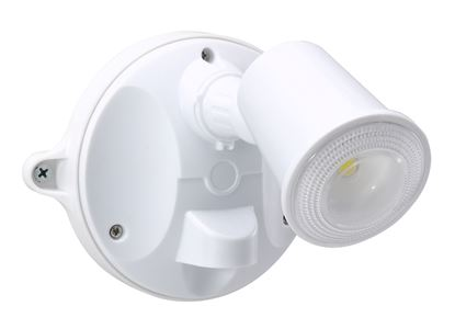 Picture of HOUSEWATCH 10W Single LED Spotlight IP54.1000 Lumens, Stainless Screws.