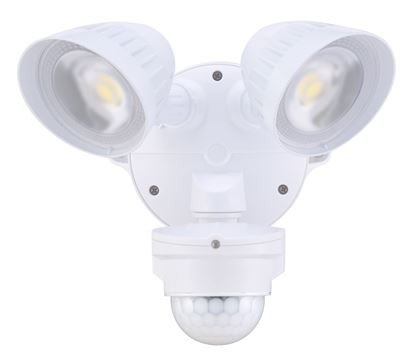 Picture of HOUSEWATCH 20W Twin LED 2x Spotlights with Motion Sensor.