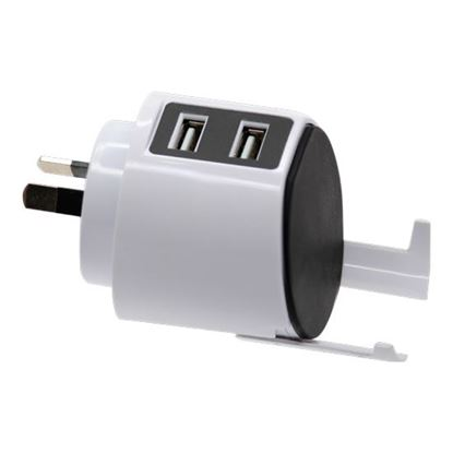 Picture of JACKSON Pocket-sized USB Charging Outlet, 2x USB Charging Outlets