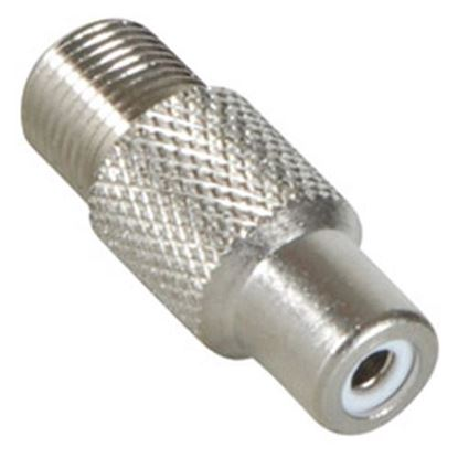 Picture of STARVIEW F Female/RCA Female Adaptor. Convert F Type Male Into