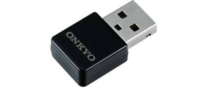 Picture of ONKYO Wireless LAN Adapter. 2.4GHz transmission frequency. Directly