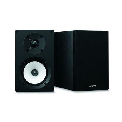 Picture of ONKYO High Performance Hi-Fi 2-Way Bookshelf Speakers. 12cm N-OMF