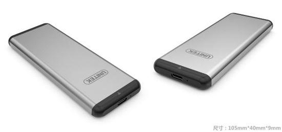Picture of UNITEK USB3.0, M.2 SSD External Enclosure. Supports M.2 SSD 30/42/