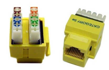 Picture of DYNAMIX RJ45 Jack for 110 Face