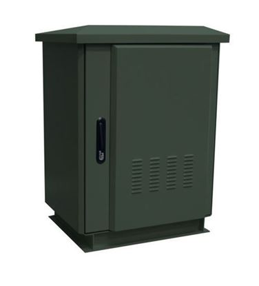 Picture of 18RU Outdoor Freestanding Cabinet.