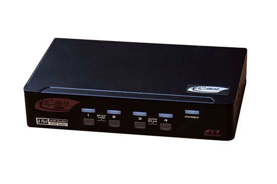 Picture of REXTRON 4 Port DVI/USB KVM