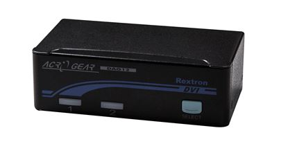Picture of REXTRON 1-2 Automatic DVI/USB KVM Switch. Share 1x USB