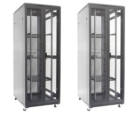 Picture of DYNAMIX 45RU Server Cabinet 1000mm Deep (800 x 1000  x2100mm). FLAT